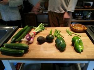 Cuisine Gaspacho vert